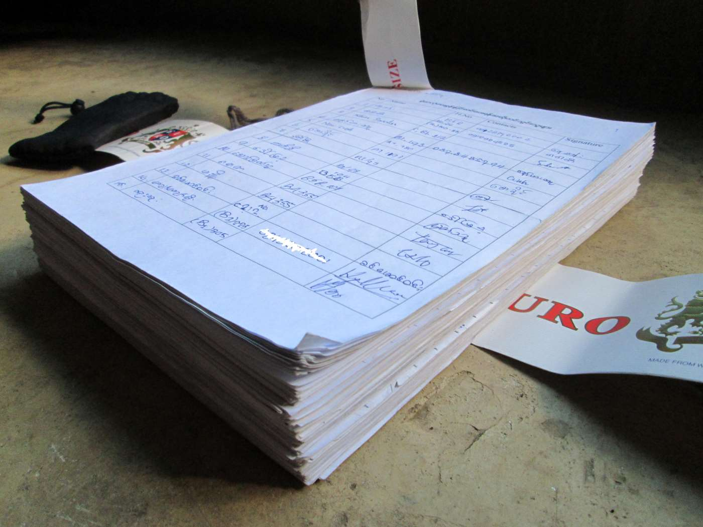 3,644 signatures, 275 pages