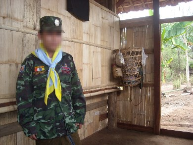 DKBA soldier