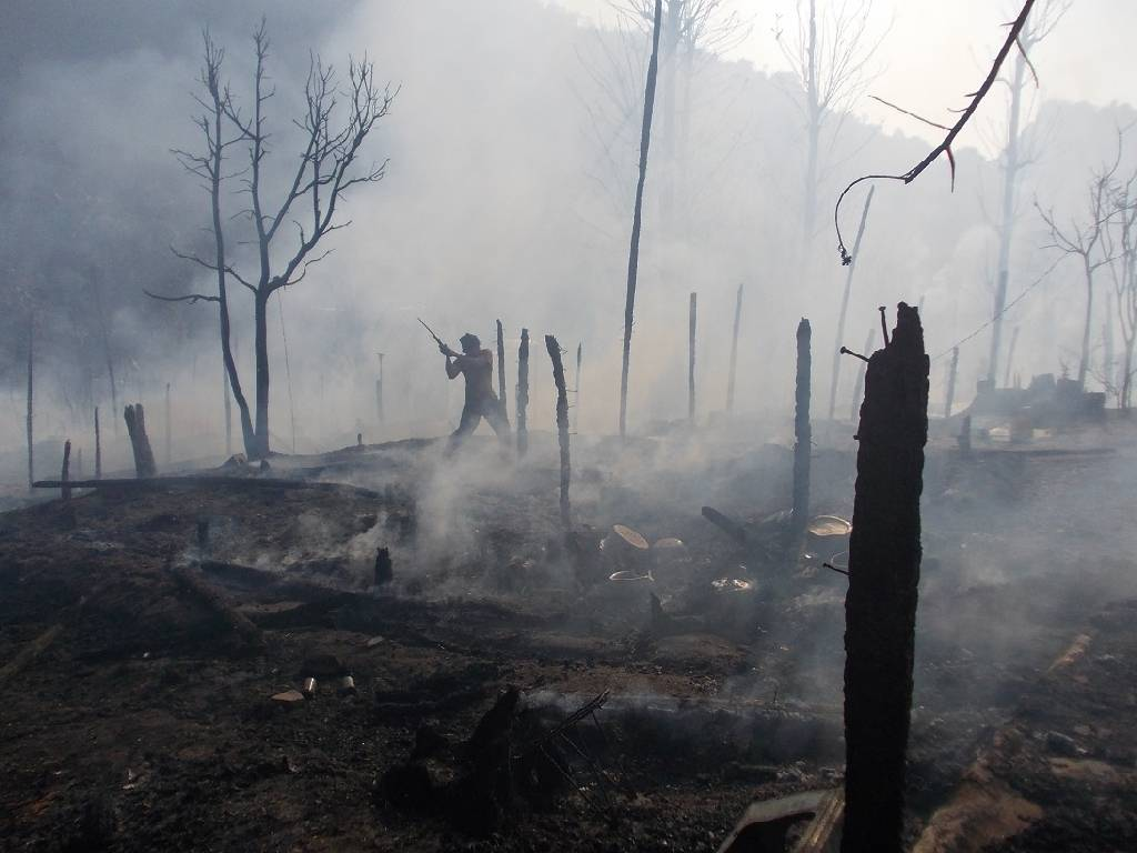 Mae La after the fire