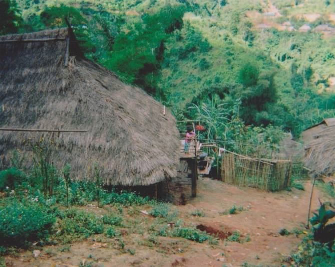 Akha and Shan villages