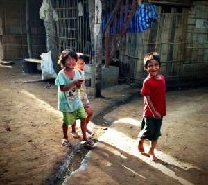 Children in Mae La