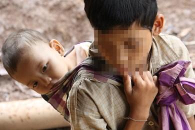 Children in hiding