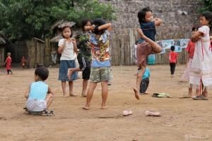 Children in Mae La camp