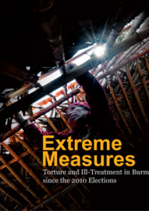 Extreme measures_Torture and ill-treatment in Burma