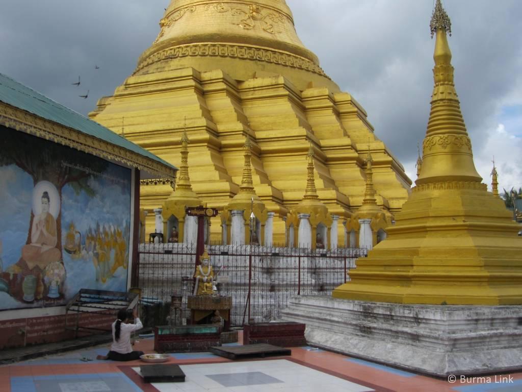 Pagoda in Myawaddi