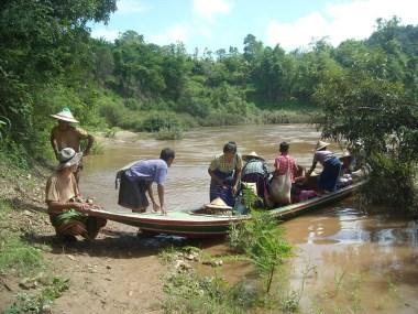 Fleeing to Thailand