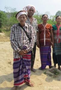 Ethnic Karen villagers