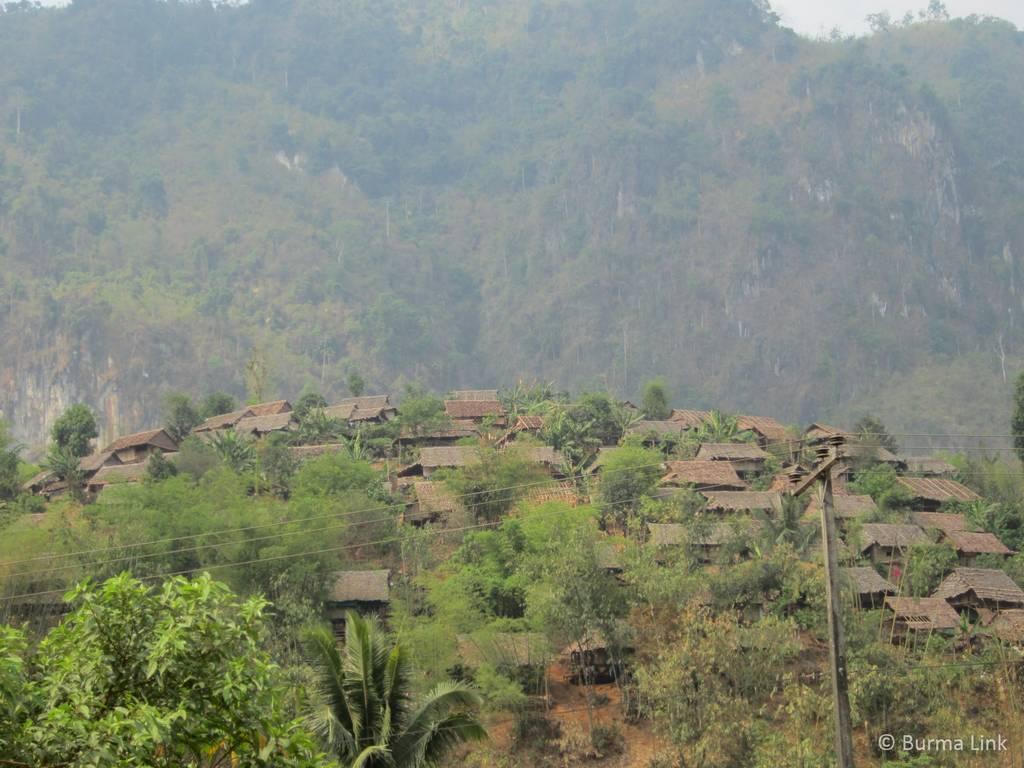 View of Mae La camp