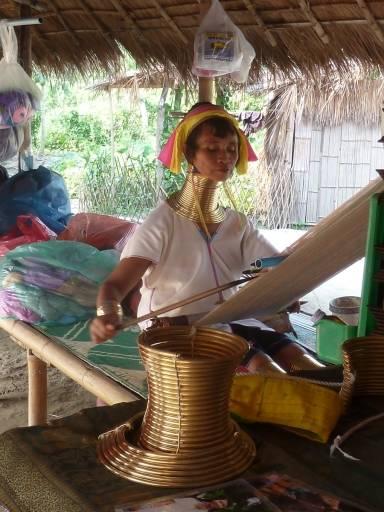 Padaung woman