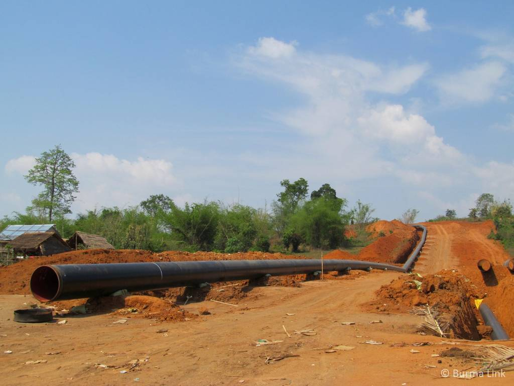 Pipeline in Shan State