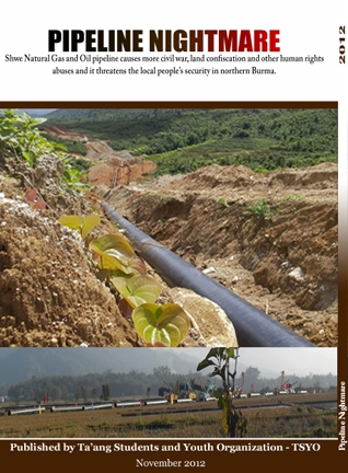 Pipeline nightmare Ta-ang