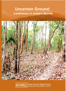Uncertain ground_landmines in eastern Burma