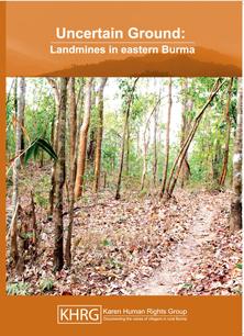 Uncertain ground_landmines in eastern Burma