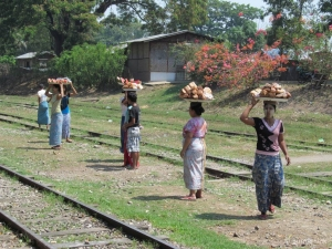 Vendors in Shan State