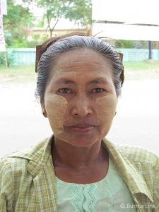 Woman from Burma