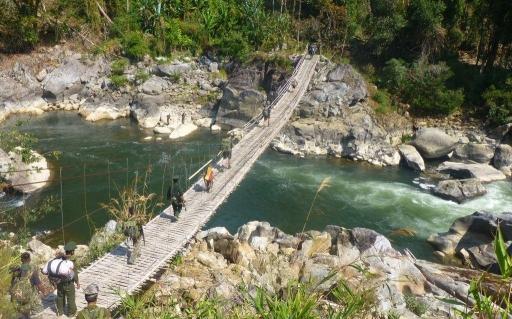 Kachin bridge