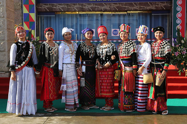 Ethnic Kachin women in Laiza, Kachin State, during talks between Burma's ethnic armed groups in October 2013. (Photo: JPaing / The Irrawaddy)
