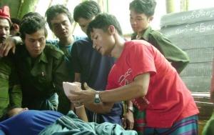 Training jungle medics