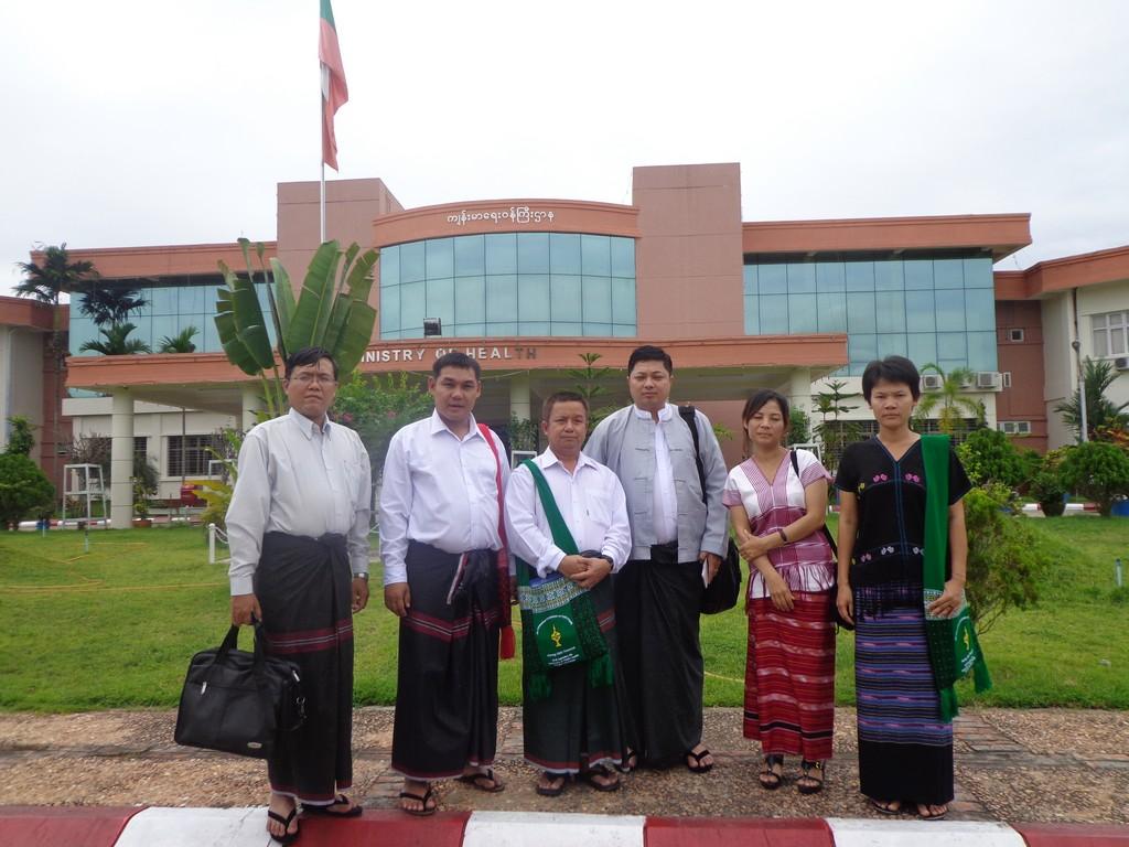 Meeting in Naypyi Daw