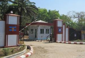 Burmese military camp