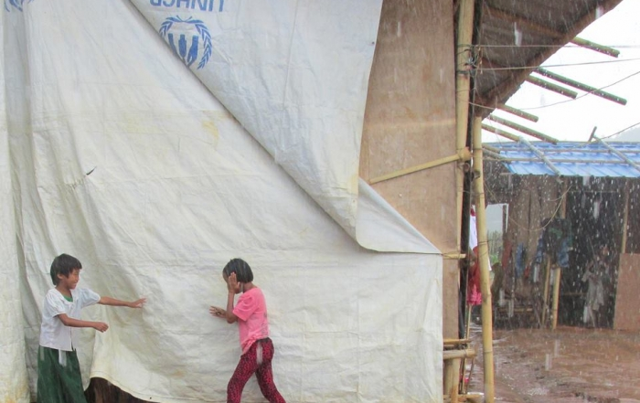 'My children and I have nowhere to go': Kachin IDP