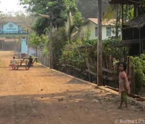 Pwo Karen village