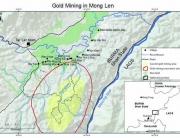 gold mining in mong len