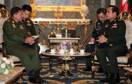 Thai Junta Leader Clarifies Policy on Myanmar Refugees