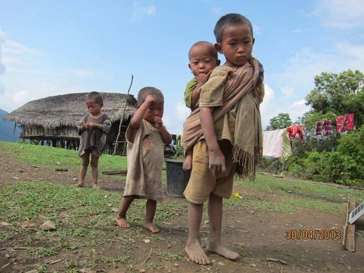 Naga children