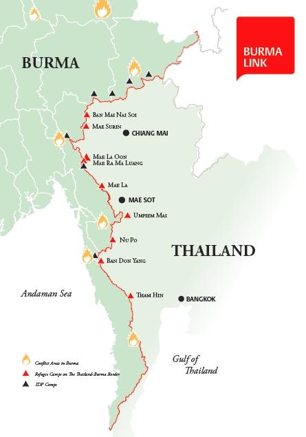 BL refugee camp map