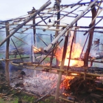 Burma Government Officials and Police Destruct 175 Houses Displacing Over 500 Karen Villagers