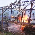 Burma Government Officials and Police Destruct 175 Houses Displacing Over 500 Karen Villagers
