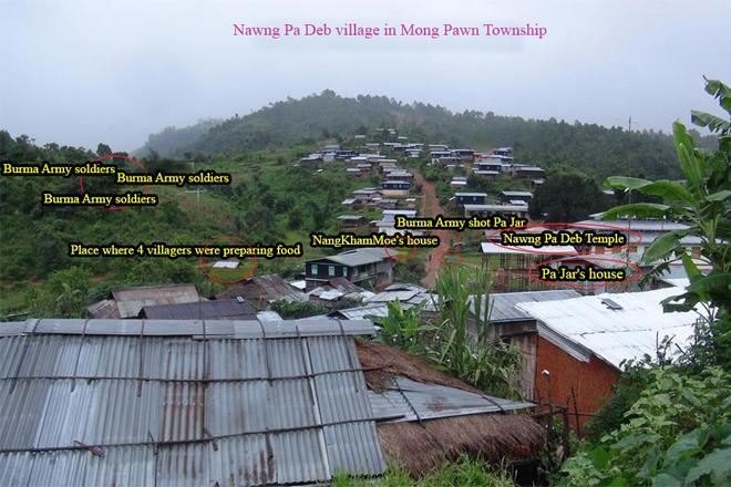 Nawng Pa Deb village