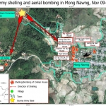 Burma Army Shelling and Aerial Bombing of 6,000 Civilians in Mong Nawng Town Are War Crimes