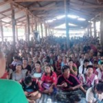 KNU Vice Chair Tours Refugee Camps To Brief Refugees on its Peace Process