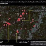 Satellite Images Show Fire-Damaged Villages in Rakhine State: HRW