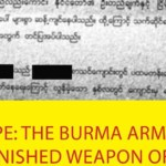 Rape: The Burma Army's Unpunished Weapon Of War