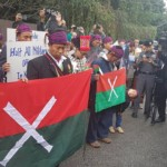 Kachins Rally at Burmese Consulate in Chiang Mai