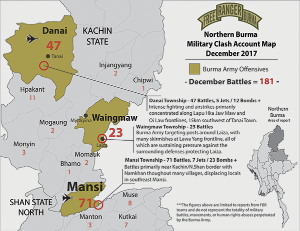 Northern Burma Clash Account
