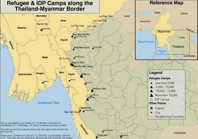 Refugee Camps in Thailand - Burma Link