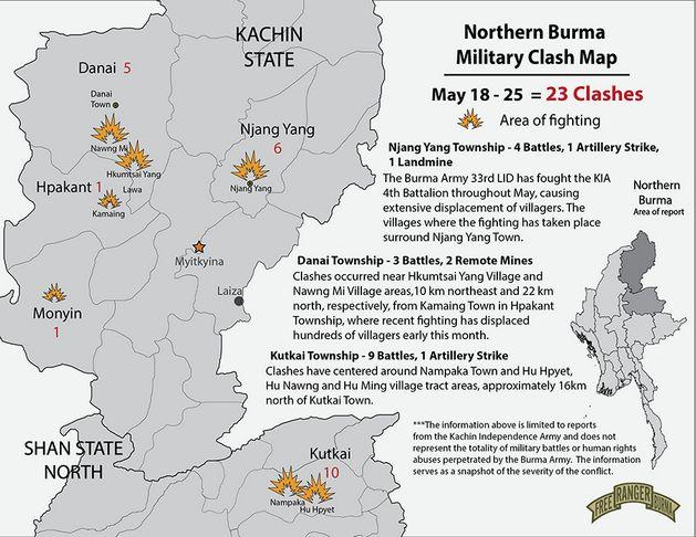 Northern Burma Conflict Update: 18-25 May 2018 - Free Burma Rangers